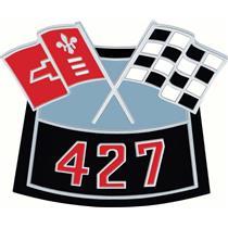 OER Air Cleaner 427 Crossed Flags Emblem - Die-Cast 3874909
