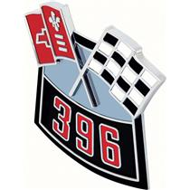 OER Air Cleaner 396 Crossed Flags Emblem - Die-Cast 3874908