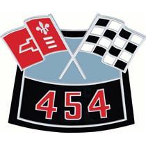OER OER454 Die-Cast Crossed Flags Air Cleaner Emblem 3874910