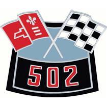 OER OER502 Die-Cast Crossed Flags Air Cleaner Emblem 3874911