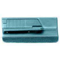 OER 1967 Camaro / Firebird Aqua / Turquoise Deluxe Molded Front Door Panels K62706