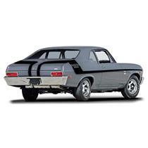 OER 1970 Nova Black Yenko Deuce Stripe Set 14464