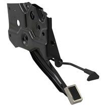 OER 71-73 Mustang/Cougar Parking Brake Assem Hand Release Handle & Custom Pedal Pad 2780E