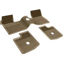 OER 1962-65 Chevrolet Without Console Fawn 3 Piece Rubber Floor Mat Set M63017