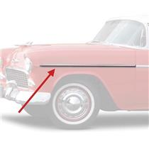 OER 1955 Bel Air Fender Molding - LH, SS TF400043