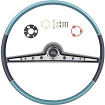 OER 1962 Impala Steering Wheel Kit ; Two Tone Blue *R62003