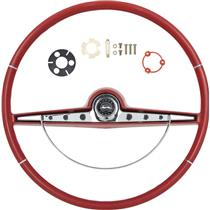 OER 1963 Impala Steering Wheel Kit ; Red ; Super Sport *R63012