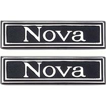 "OER 1969-72 ""Nova"" Custom Interior Door Panel Emblems 7790751"