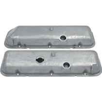 OER Chevy 396-454 Big Block w/ Power Brakes Valve Covers w/ Oil Drippers - Paintable VC1216