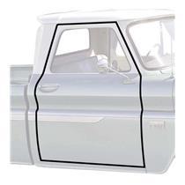 OER 1960-66 Chevy, GMC Truck Door Frame Weatherstrip, Pair K8097