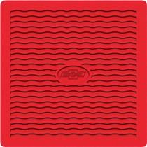 OER 1955-56 Chevrolet Red Factory Accessory Floor Mats with Chevrolet Bow Tie Logo M55002
