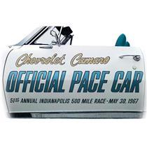 OER 1967 Camaro Indy 500 Pace Car Door Decal Set PC012
