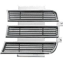 OER 1969 Camaro RS Inner Headlamp Door - LH - Chrome 3958005