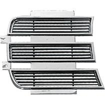 OER 1969 Camaro RS Inner Headlamp Door - RH - Chrome 3958006