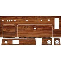 OER 1969 Camaro Complete Dash Woodgrain Set - 6 piece set *R157