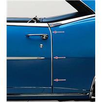 OER 1967-68 Camaro / Firebird Door Edge Guards - Pair K9343