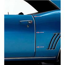 OER 1969 Camaro / Firebird Door Edge Guards K9344