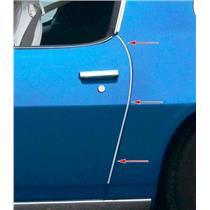 OER 1970-81 Camaro/ Firebird Door Edge Guard Moldings K9345