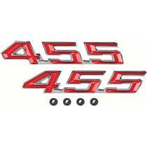 OER 1967-69 Firebird 455 Hood Emblems F5246