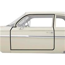 OER 1961-64 Impala / Full-Size Door Frame Weatherstrip, 2 Door Sedan, Pair K427