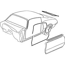 OER 68-69 Camaro Coupe w/ Deluxe Interior Weatherstrip Kit w/ OEM Style Windowfelts *R5116