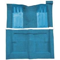 69-70 Torino 2-Dr HT/Ranchero GT Auto Loop Carpet Kit w/ Medium Blue Inserts Medium Blue F9215041