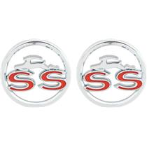 OER 1963 Impala SS Quarter Panel Emblems 3827300