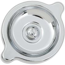 "OER 1964-81 Chevrolet V8 Chrome Oil Filler Cap with ""S"" Marking 3851736"