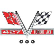 "OER 1966-67 ""427 Turbo Jet"" Fender Emblem 3878607"