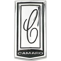 "OER 1970 Camaro ""Show Quality"" Header Panel Emblem 3982037"