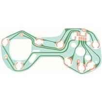 OER 1968 Camaro Tic-Toc-Tach Circuit Board 6290093