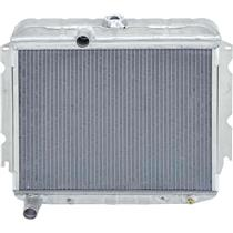 "OER 66-69 Mopar B-Body 318, 340 V8 W/ Auto Trans 22"" Wide 2 Row Aluminum Radiator MB2355A"