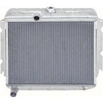 "OER 66-69 Mopar B-Body 318Ci, 340Ci V8 w/ Std Trans 22"" Wide 2 Row Aluminum Radiator MB2355S"