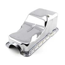 OER 1965-87 Mustang Front Sump Oil Pan 289/302 Chrome 6675D