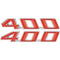 OER 1967-69 Firebird 400 Hood Emblems F1251