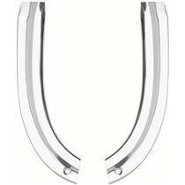 OER 1963 Impala / Full-Size Lower Front Eyebrow Moldings - Pair K103