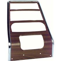 OER 1967 Firebird Walnut Center Dash Panel-With AC K261