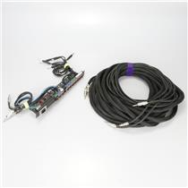 3 Guitar Bass Amp Head Rack Patchbay w/ 65' Speaker Cable Boys Like Girls #39475