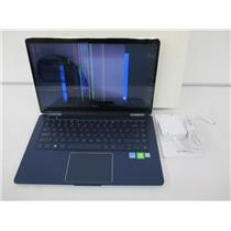 """AS IS -Samsung NP950SBE-X01US 15"""" Notebook 9 Pen 2-in-1 Laptop i7-8565U 16GB 1TB"""