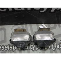 2001 - 2004 CHEVROLET 2500 HD OEM BUMPER LIGHTS FOG DRIVING (2) OEM
