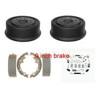 Brake Drum shoe and spring kit fit 1990-2006 Jeep Cherokee Wrangler 9 INCH brake