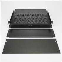 Middle Atlantic 1U 3U 4U Rack Panels Spacers Sliding Vented Shelves #39605