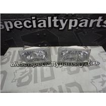 2003 - 2004 FORD F350 F250 HEADLIGHTS (PAIR) GOOD CONDITION OEM