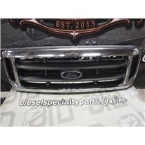 2003 - 2004 FORD F350 F250 LARIAT OEM CHROME GRILL *EXCELLENT CONDITION* OEM