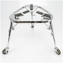 LP LP636 Collapsible Conga Cradle w/ Legs & Wheels Percussion Stand #39798