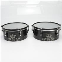 "Latin Percussion Custom LP FCIII Fausto Cuevas ""King"" 14"" 15"" Timbales #39809"