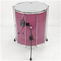 "LP LP3120 22"" x 20"" Aluminum Surdo Drums in Custom Purple Shakira #39842"