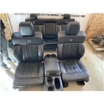 2004 - 2008 FORD F150 CREWCAB HARLEY DAVIDSON BLACK LEATHER SEATS GOOD CONDITION