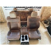2004 - 2008 FORD F150 CREWCAB KING RANCH LEATHER SEATS GOOD CONDITION