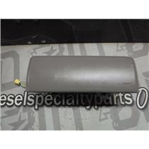 2000 - 2002 GMC 2500 3500 PASSENGER SAFTEY DEVICE DASH BAG (GREY) AIR OEM